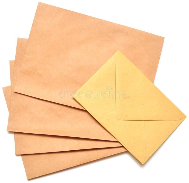 De enveloppen van de post royalty-vrije stock foto