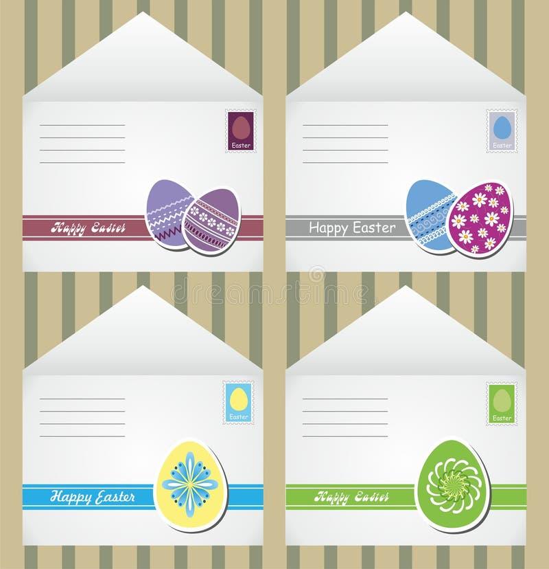 De enveloppen van Pasen stock illustratie