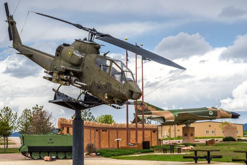 De era van Vietnam van de Apachehelikopter stock afbeeldingen