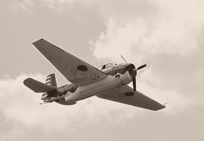 De eravliegtuig van de Wereldoorlog II royalty-vrije stock fotografie