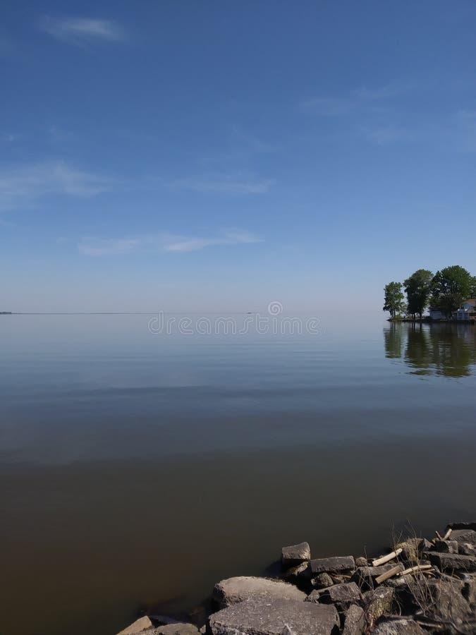 De Erie kusterna royaltyfri bild