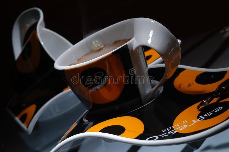 De espresso van Caffe royalty-vrije stock afbeeldingen