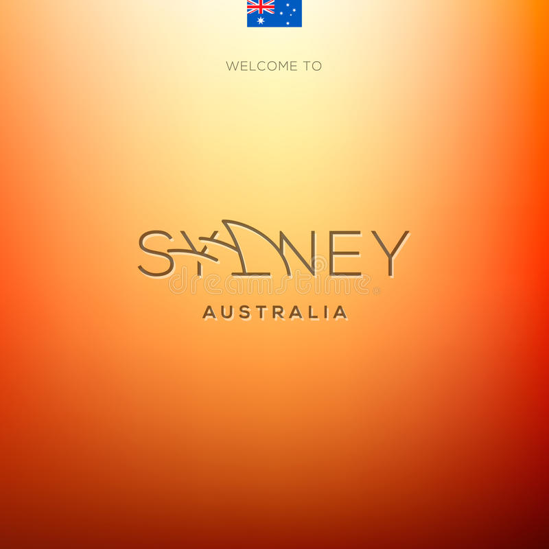 De etiketten van wereldsteden - Sydney
