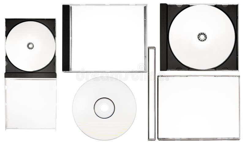 De Etikettering van de schijf - de Volledige Reeks van de Etikettering van de Schijf met Wegen (Xxl- Dossier) stock foto's