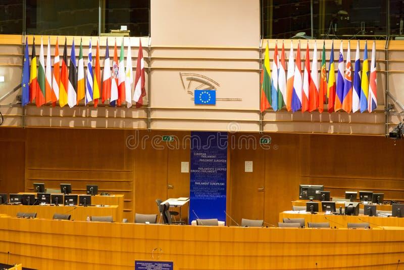 De EU Brussel royalty-vrije stock afbeelding