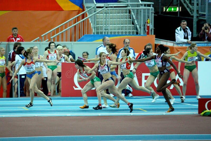 De Europese BinnenKampioenschappen van de Atletiek stock afbeelding