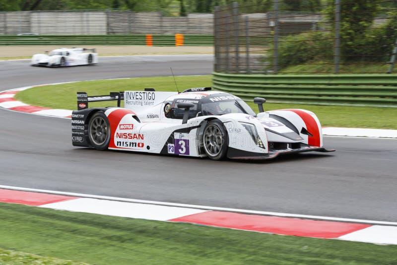 De Europese Reeks Imola van Le Mans stock foto's