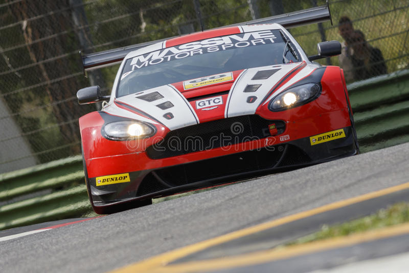 De Europese Reeks Imola van Le Mans royalty-vrije stock afbeelding