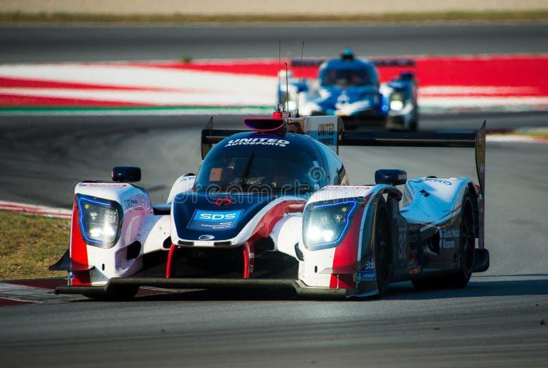 De Europese Reeks van Le Mans - 4Hours van Barcelona royalty-vrije stock afbeeldingen