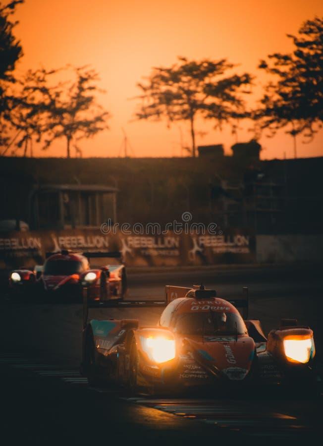 De Europese Reeks van Le Mans - 4Hours van Barcelona stock afbeelding