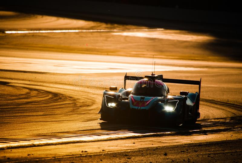 De Europese Reeks van Le Mans - 4Hours van Barcelona stock foto's