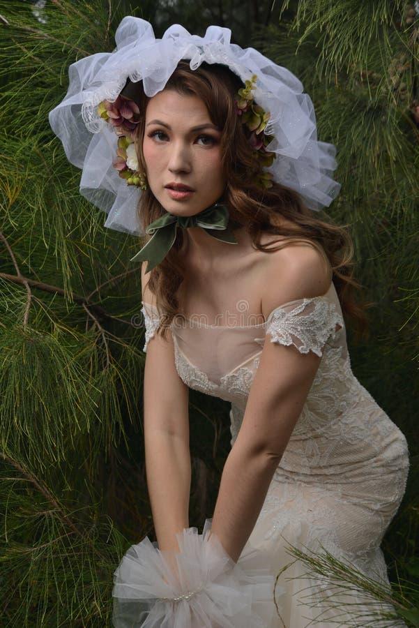 De Europese toga van het Mannequinhuwelijk stock foto's