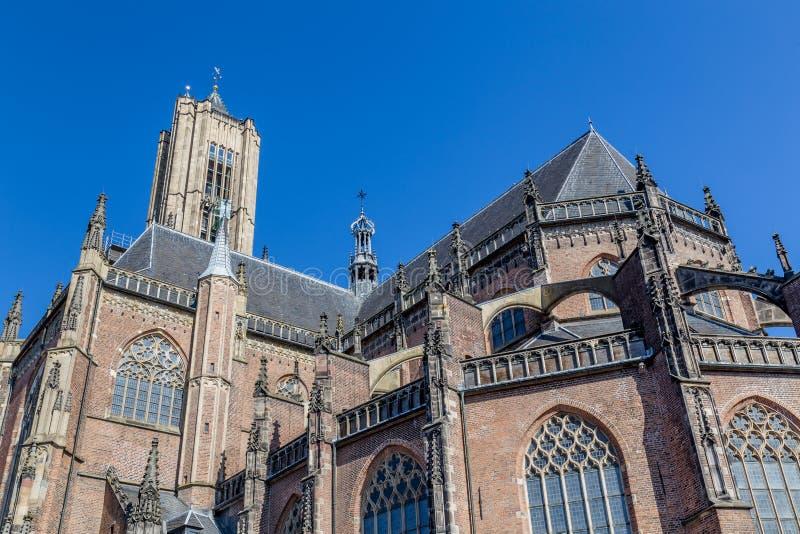 De Eusebius-kerk in Arnhem in Nederland stock foto