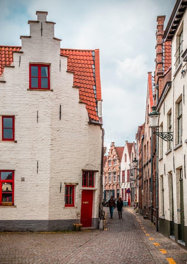 De evocatie van Brugge - Vermeer- royalty-vrije stock afbeelding