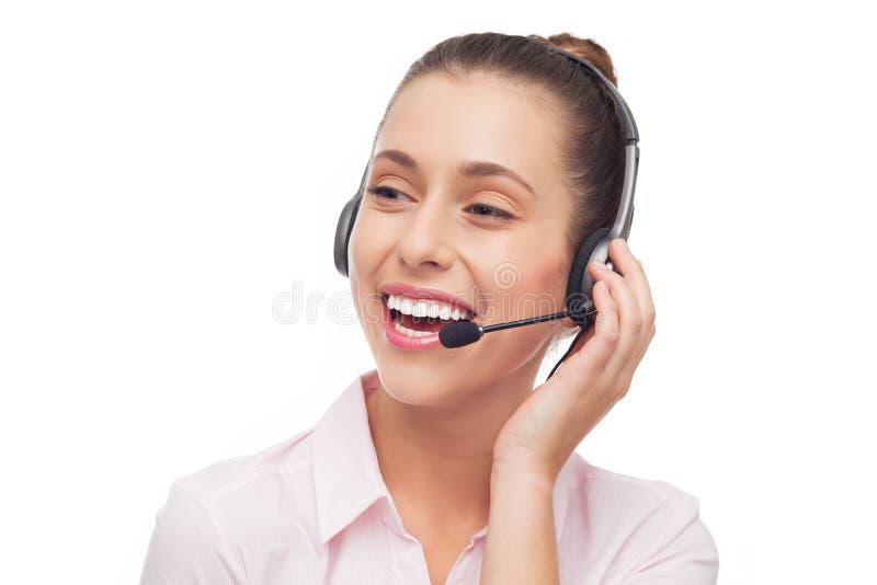 De Exploitant Van Het Call Centre Stock Afbeeldingen