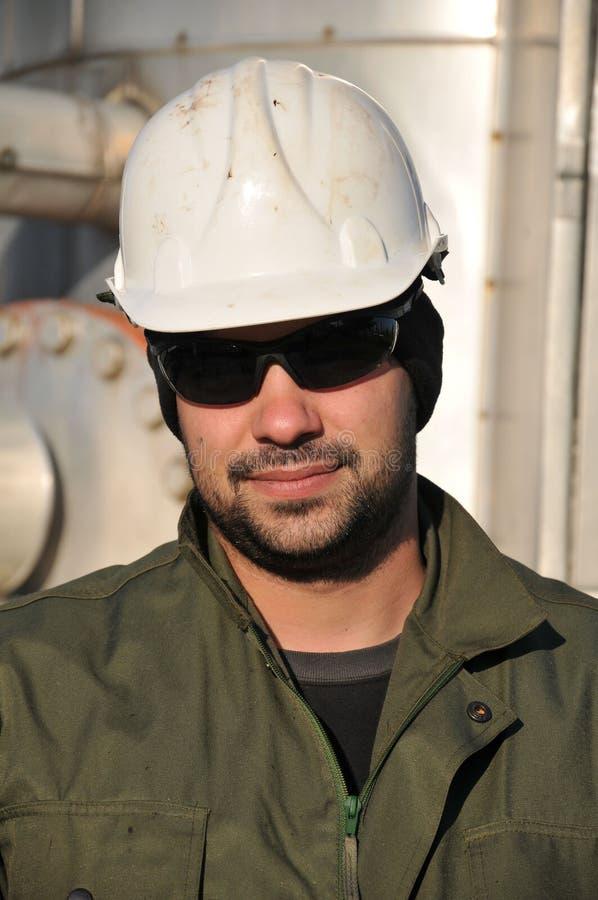 De exploitant van het gas royalty-vrije stock foto