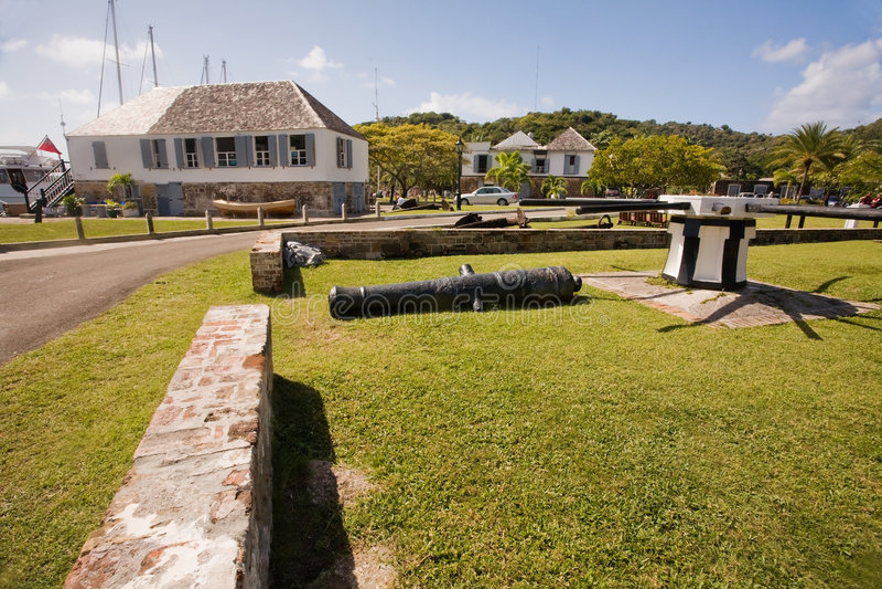 De Exploraties van Antigua royalty-vrije stock afbeeldingen