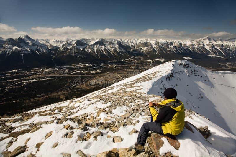 De Exploraties van de Berg van de grot royalty-vrije stock afbeeldingen