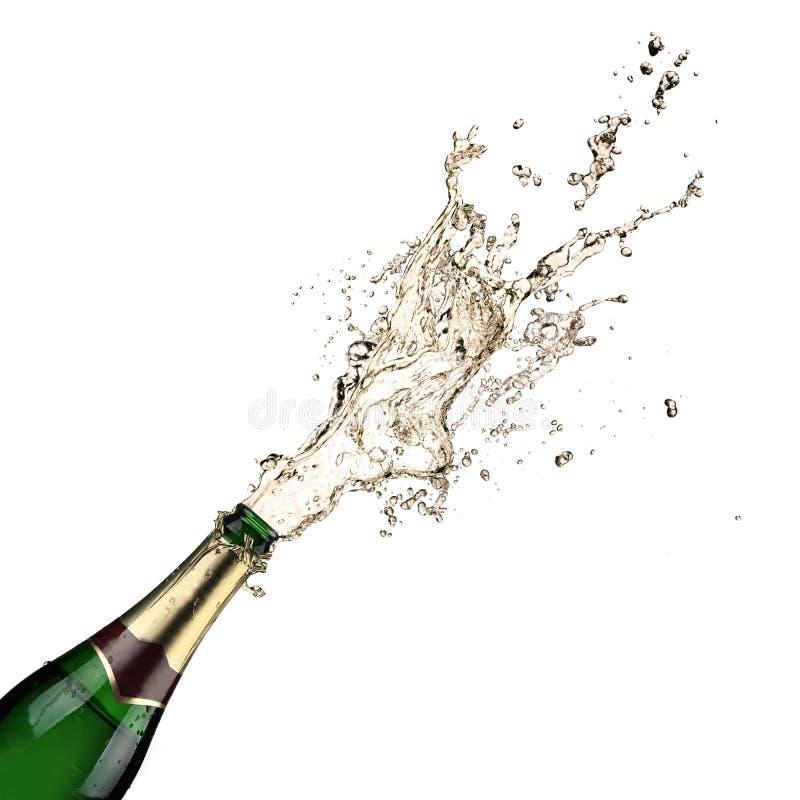 De explosie van Champagne royalty-vrije stock foto's
