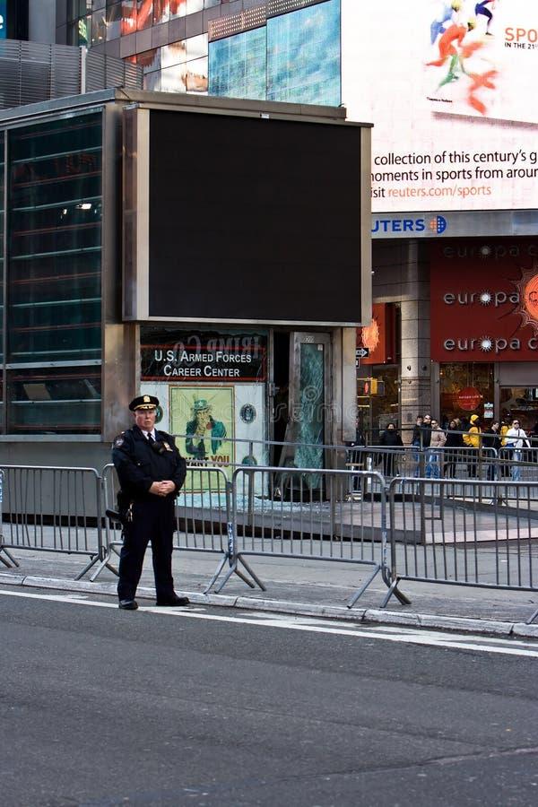 De explosie van het Times Square stock fotografie