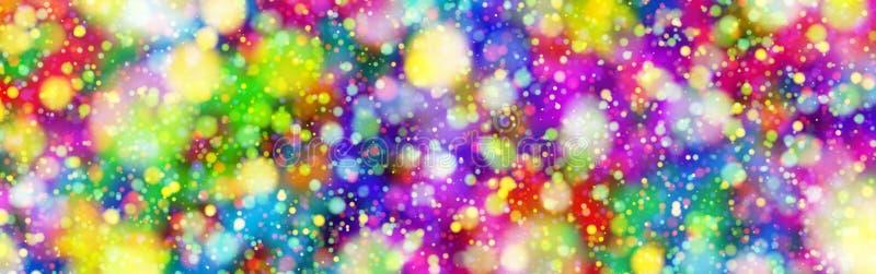 De Explosie van kleurencirkels stock foto's