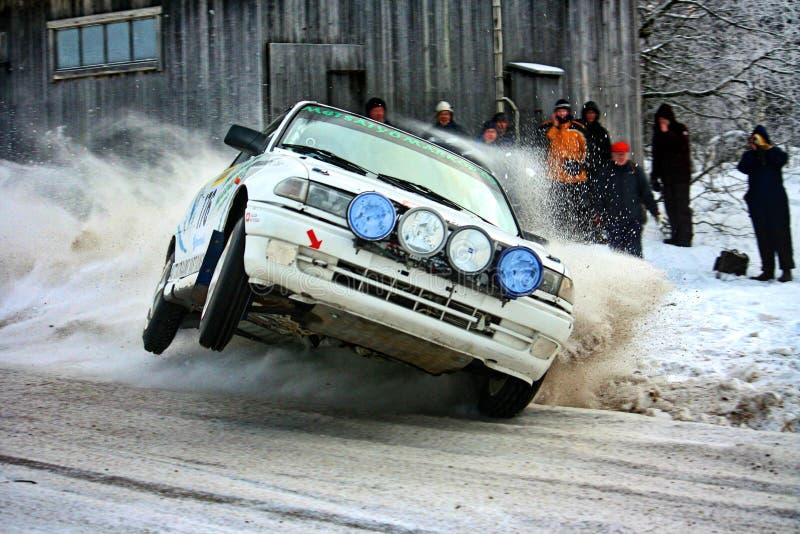 De f-kop concurrentie in Finland royalty-vrije stock foto's