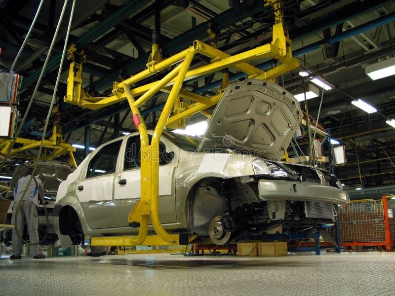 De fabriek van de auto