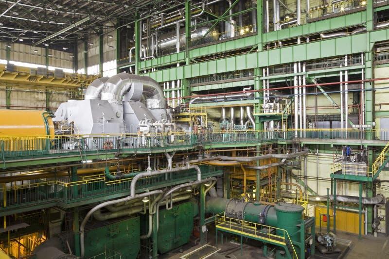 De fabriek van de elektriciteit royalty-vrije stock foto's