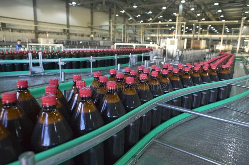 De fabriek van het bier