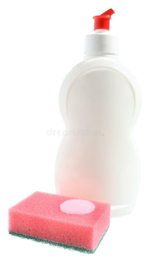 De faciliteit voor dishwashing. stock afbeeldingen
