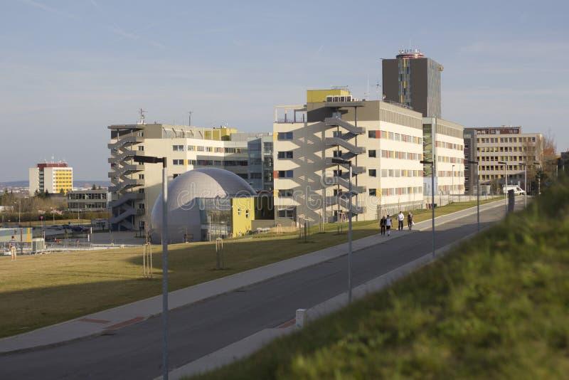 De Faculteit van Elektrotechniek en Communicatie Brno Universiteit van Technologie royalty-vrije stock fotografie