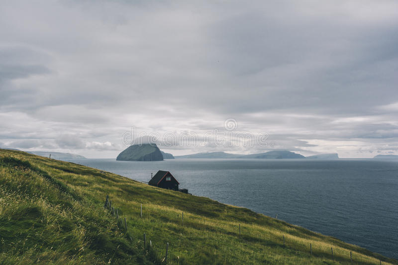 De Faeröer royalty-vrije stock foto