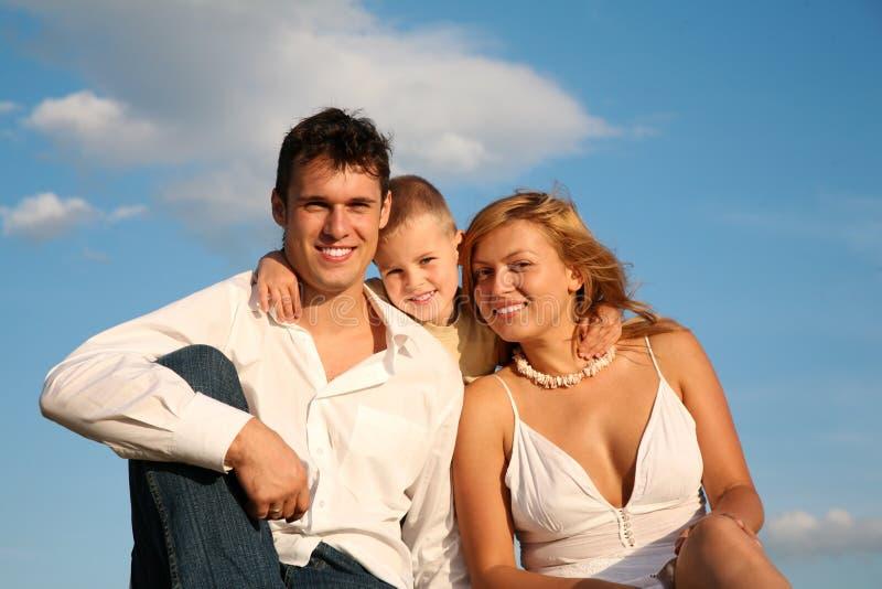 De familie stock afbeeldingen