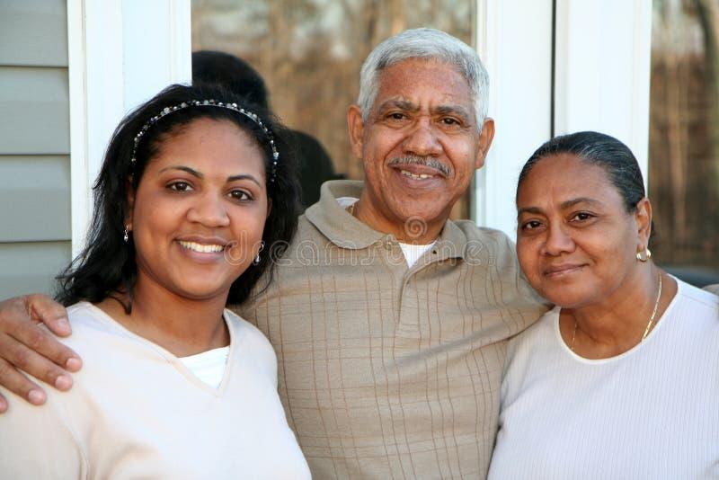 De Familie van de minderheid royalty-vrije stock foto's