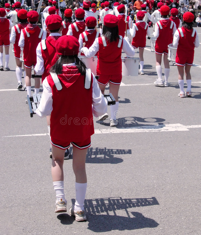 De fanfare van kinderen stock fotografie
