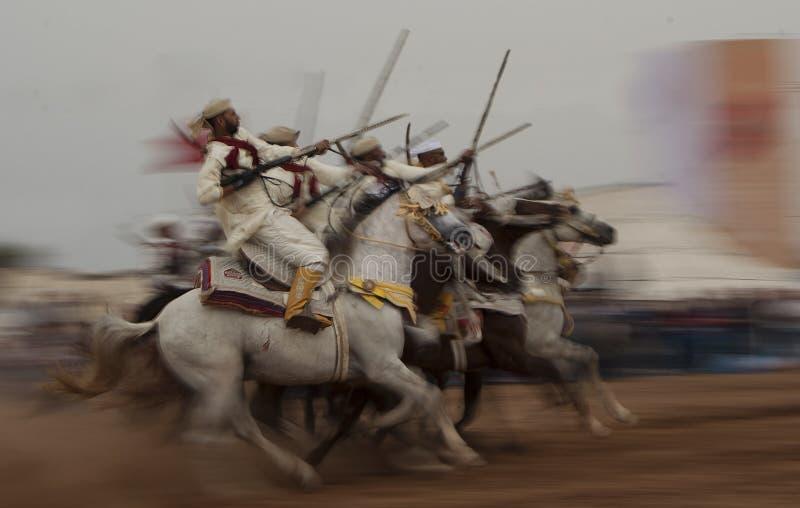 De fantasie toont ook geroepen TBOURIDA in Marokko, die fotografie filteren royalty-vrije stock afbeeldingen