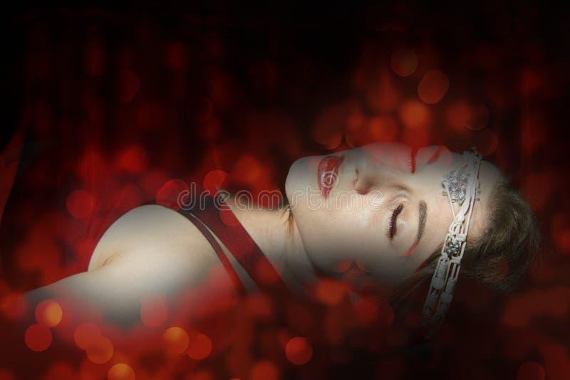De fantasie van de vrouwendood royalty-vrije stock afbeelding
