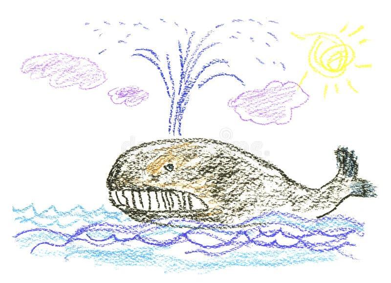 De fantasie van het kind royalty-vrije illustratie