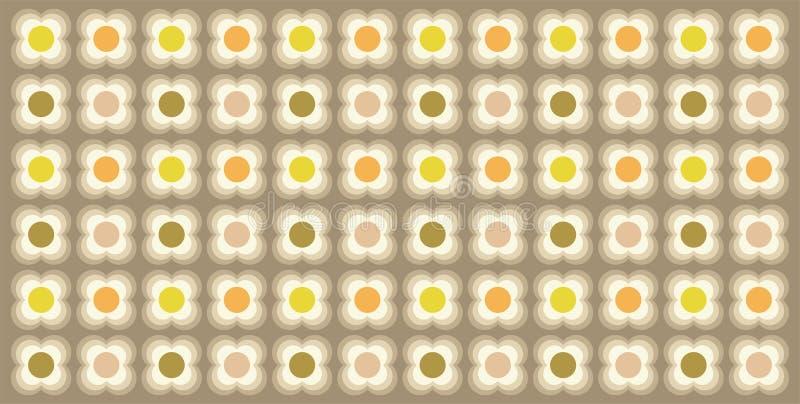 De fantastische achtergrond van een reeks kleuren op een roze patroon, vat geometrisch naadloos patroon samen stock illustratie