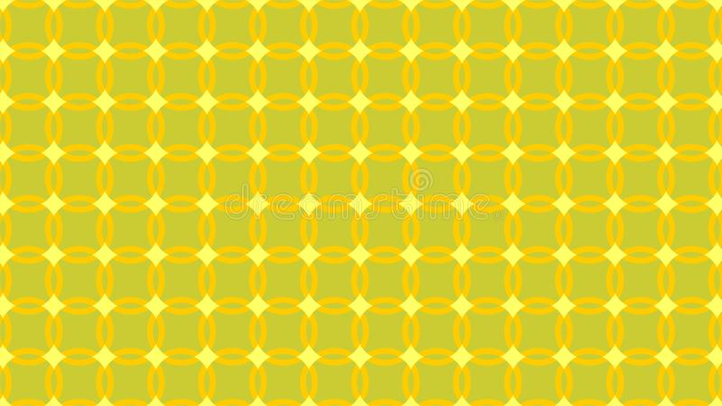 De fantastische achtergrond van een verscheidenheid van gele kleurenschaduwen, vat geometrisch naadloos patroon samen stock illustratie