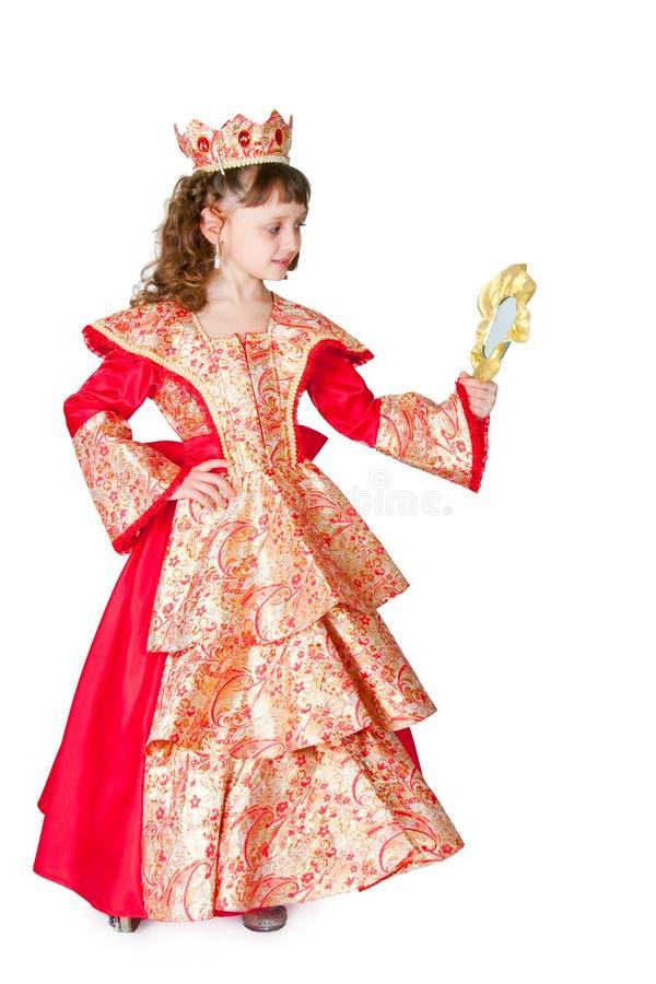 De fantastische prinses stock afbeeldingen