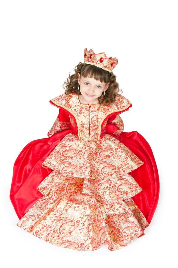 De fantastische prinses stock foto