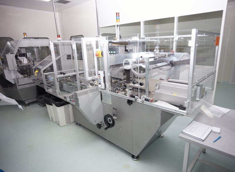 De farmaceutische industrie stock foto's