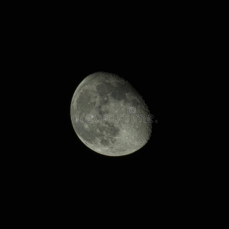 De fase van de maan stock fotografie