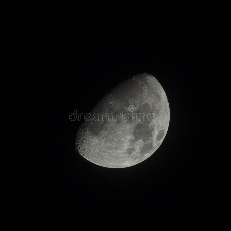 De fase van de maan royalty-vrije stock afbeeldingen