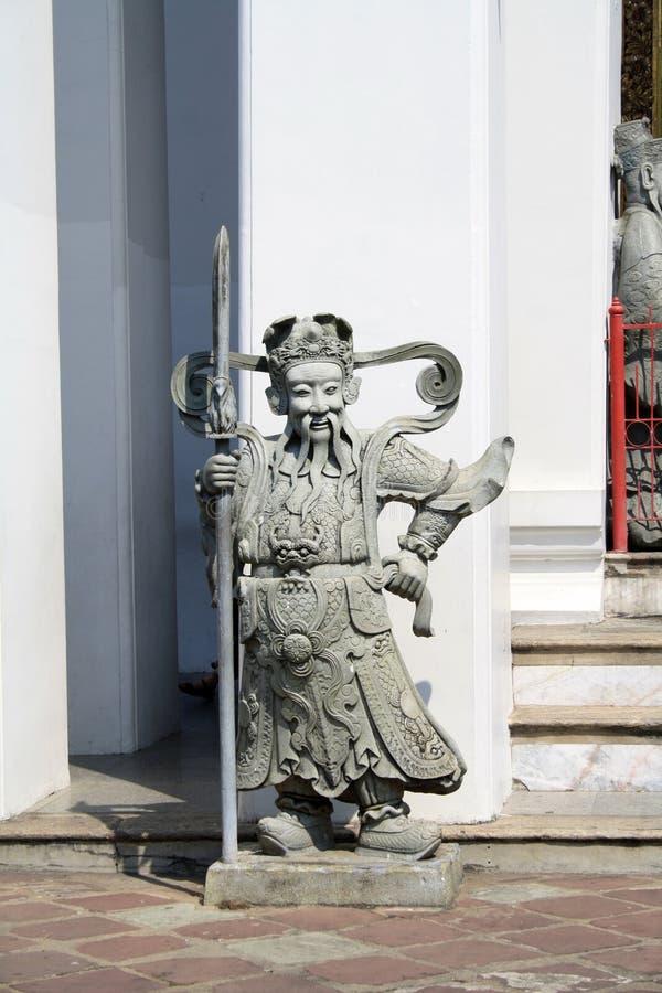 7 de febrero de 2019, Bangkok, Tailandia, complejo del templo de Wat Pho Estatuas y esculturas budistas fotos de archivo