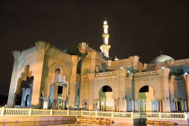 De federale Moskee van het Grondgebied stock foto