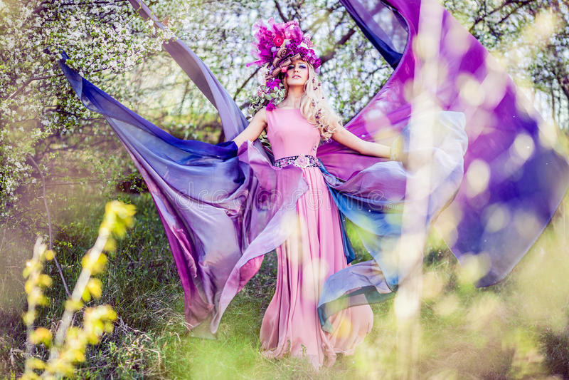 De feeën zijn echt royalty-vrije stock fotografie