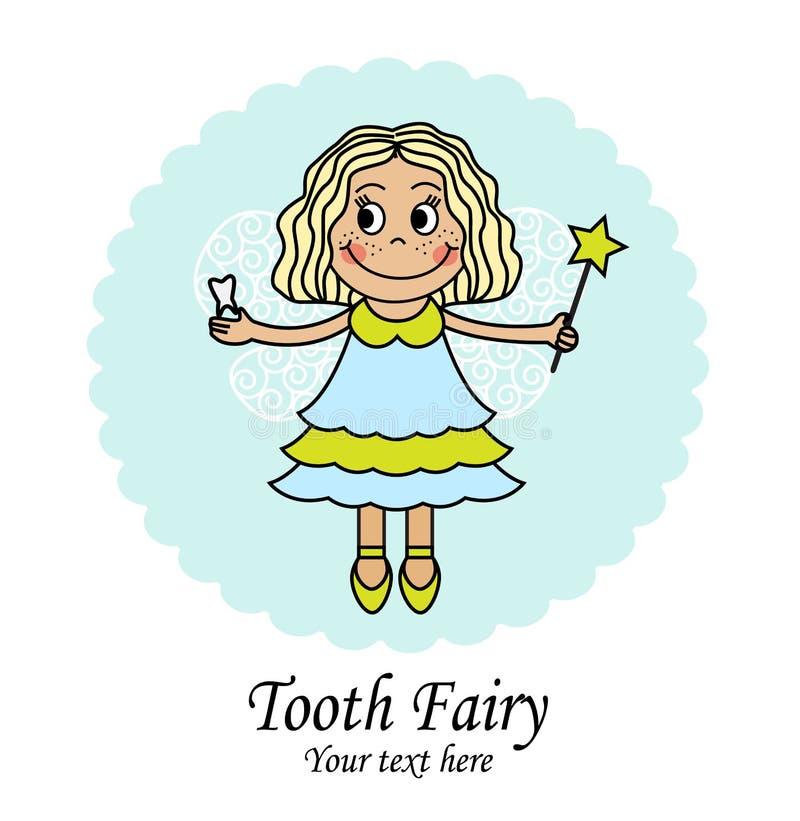 De fee van de tand royalty-vrije illustratie