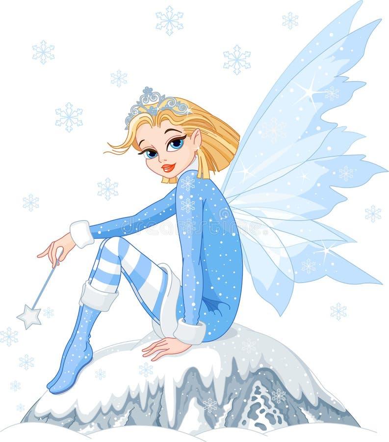De fee van de winter vector illustratie